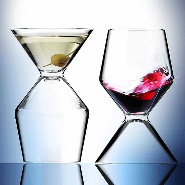 Asobu Vino Tini Wine and Martini Glass Dishwasher Safe