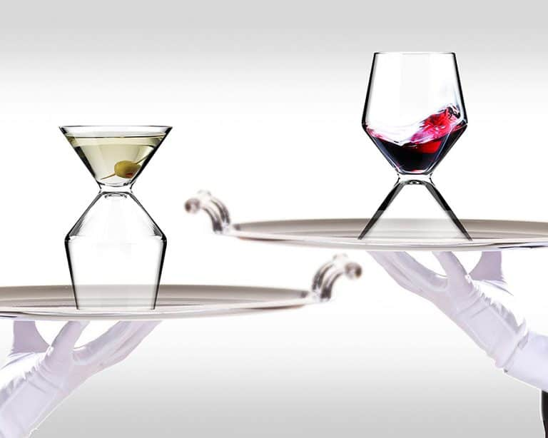 Asobu Vino Tini Wine and Martini Glass Drinkware Product