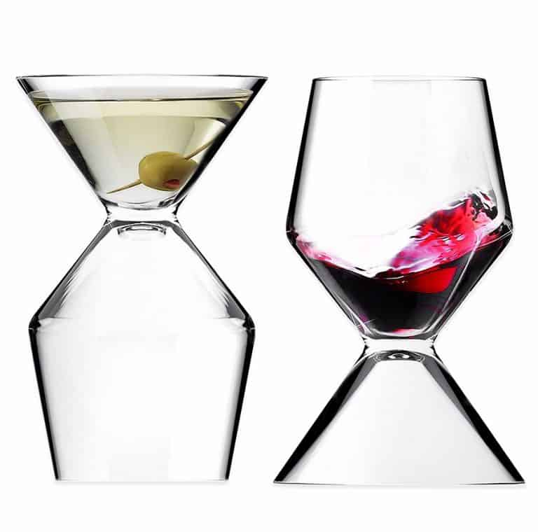 Asobu Vino Tini Wine and Martini Glass Glassware
