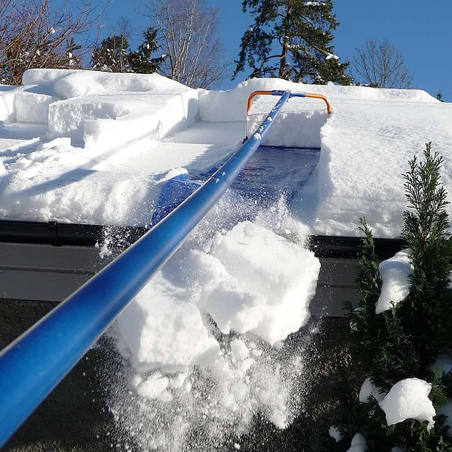 Don't let your house fall victim to the dangers of falling snow!