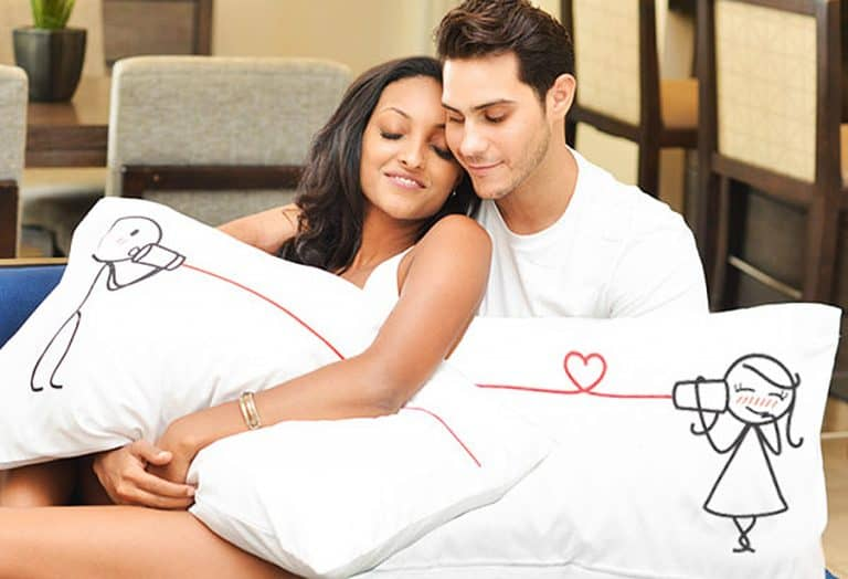 Bold Loft Say I Love You Couples Pillowcases Valentines Gift