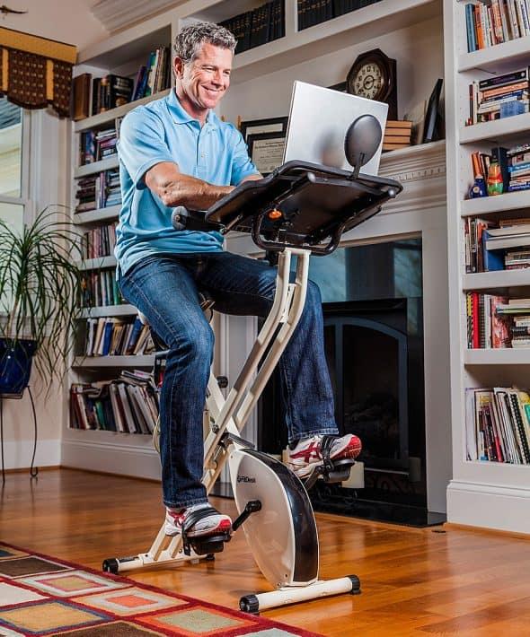 FitDesk 2.0 Desk Exercise Bike High Quality Gear Box