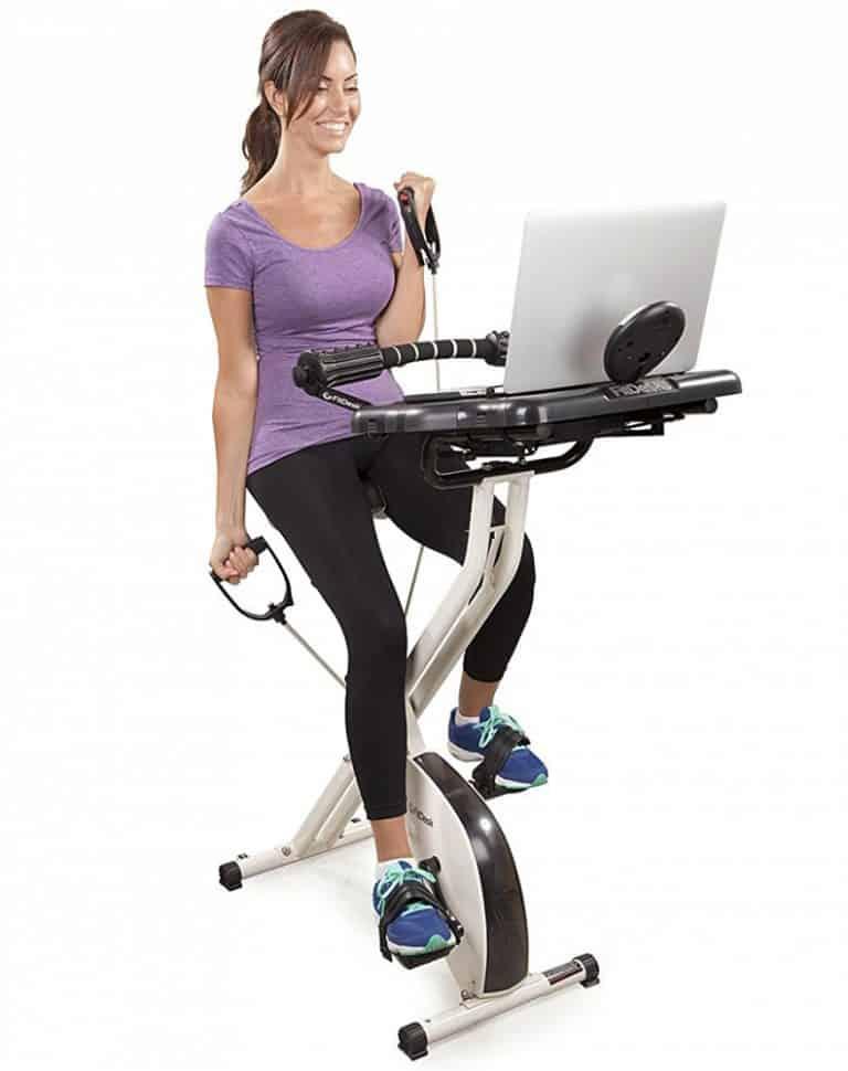 FitDesk 2.0 Desk Exercise Bike Home Equipment