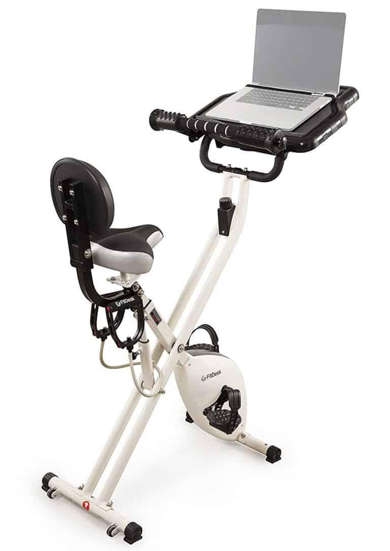 FitDesk 2.0 Desk Exercise Bike Stationary Bicycle