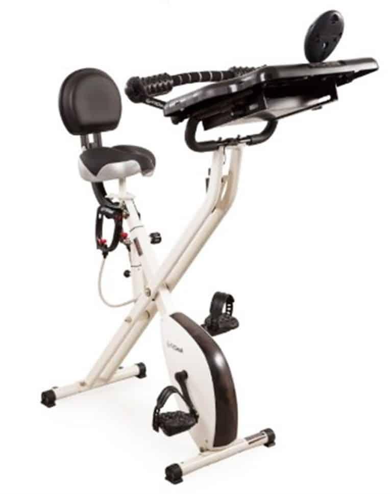 FitDesk 2.0 Desk Exercise Bike Twin Belt