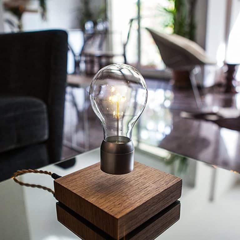 Flyte Floating Levitating LED Light Bulb Anti Gravity