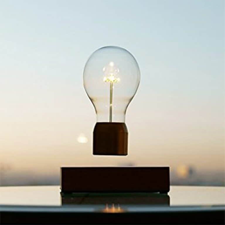 Flyte Floating Levitating LED Light Bulb Electromagnetic Technology