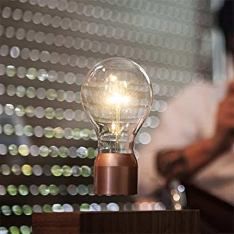 Flyte Floating Levitating LED Light Bulb Electronic Devices