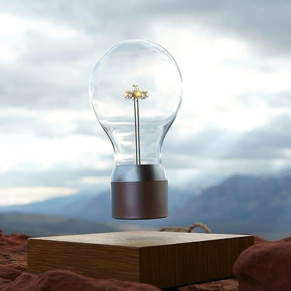 Flyte Floating Levitating LED Light Bulb Magnetic