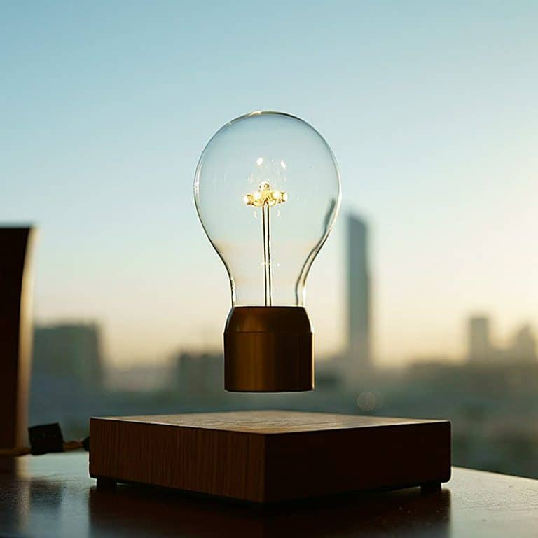 Flyte Floating Levitating LED Light Bulb Room Accessory