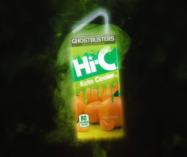 Ectoplasm juice in a box.