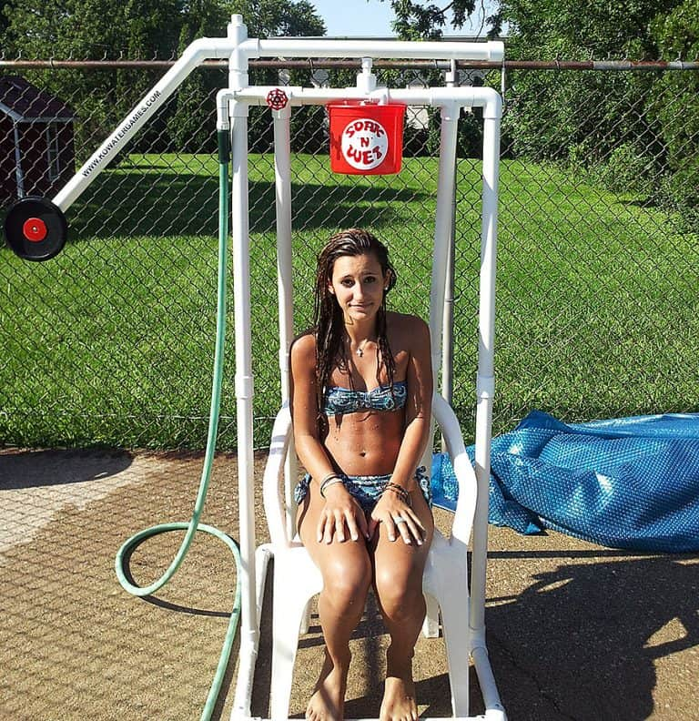KO Water Games Soak 'N' Wet Alternative Dunk Tank Portable