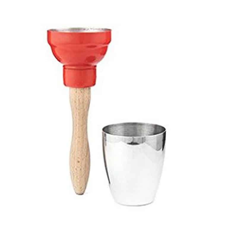 Kikkerland Maraca Cocktail Shaker Bartending Product