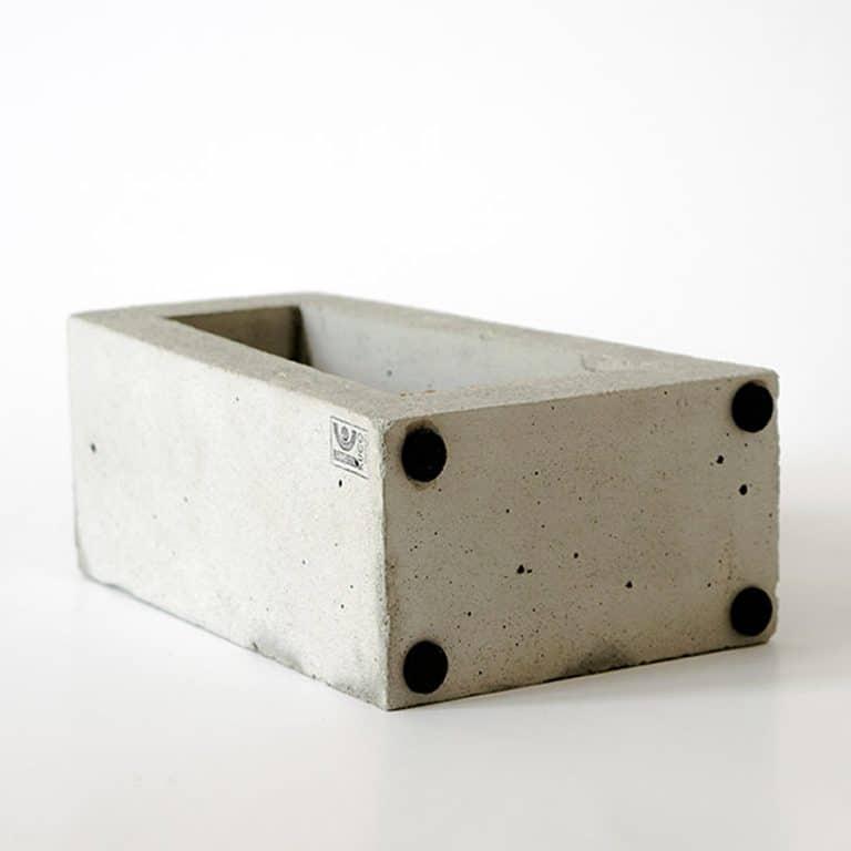 Kuco Design Minimalistic Test Tube Concrete Vase Cement