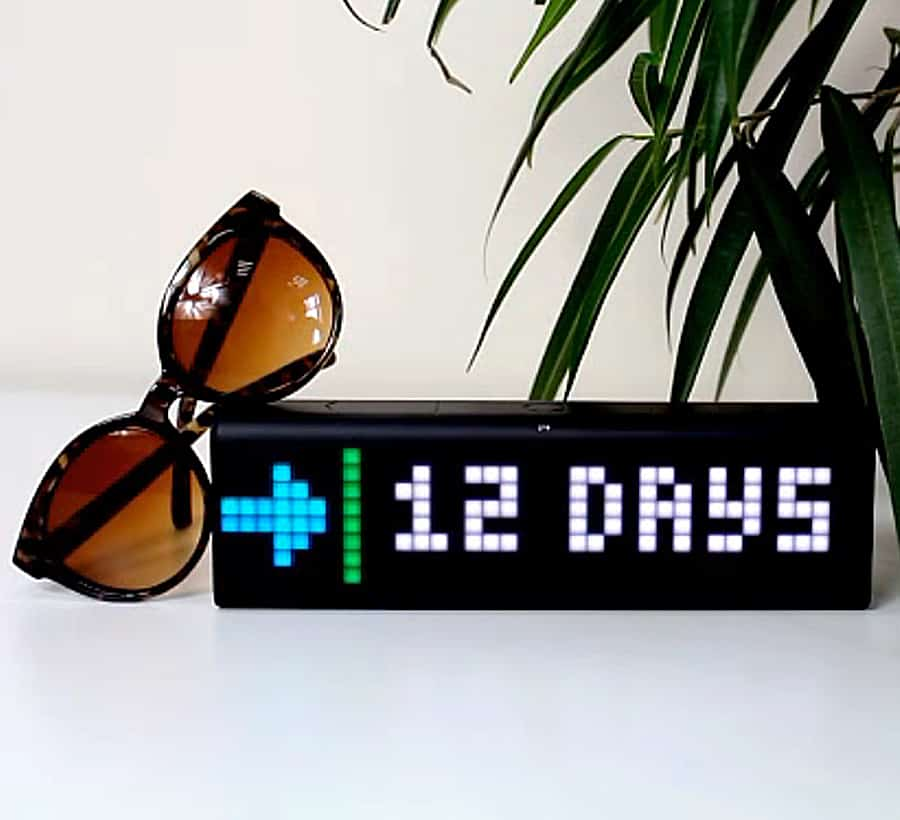LaMetric Time Wi-Fi Clock Electronic Clocks
