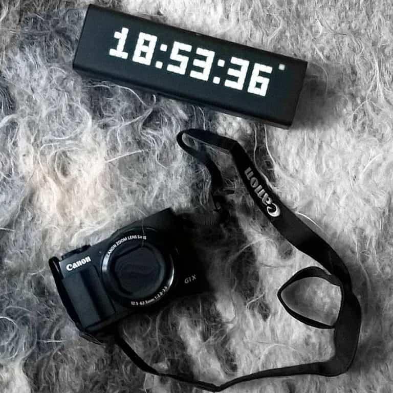 LaMetric Time Wi-Fi Clock Home Gadget
