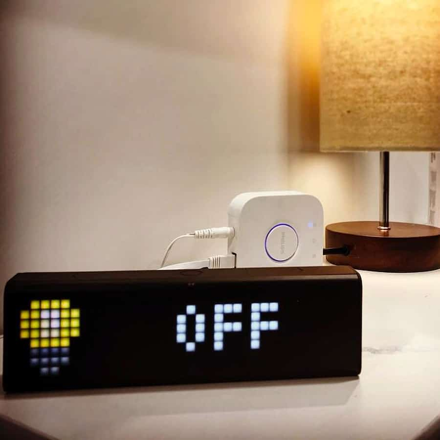 LaMetric Time Wi-Fi Clock Novelty Item