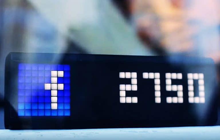 LaMetric Time Wi-Fi Clock Stand Alone Device