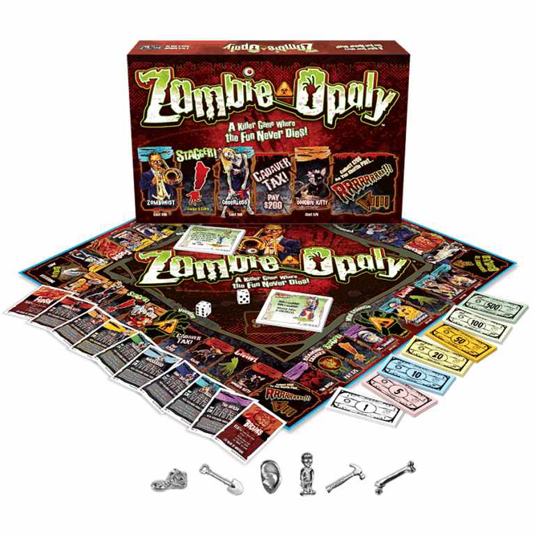 Late for the Sky Zombie-Opoly Board Game Indoor Games
