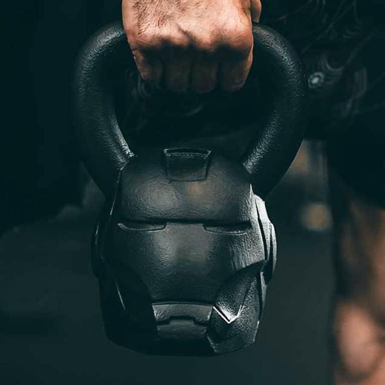 Onnit Marvel Hero Elite Iron Man Kettlebell Gym Product