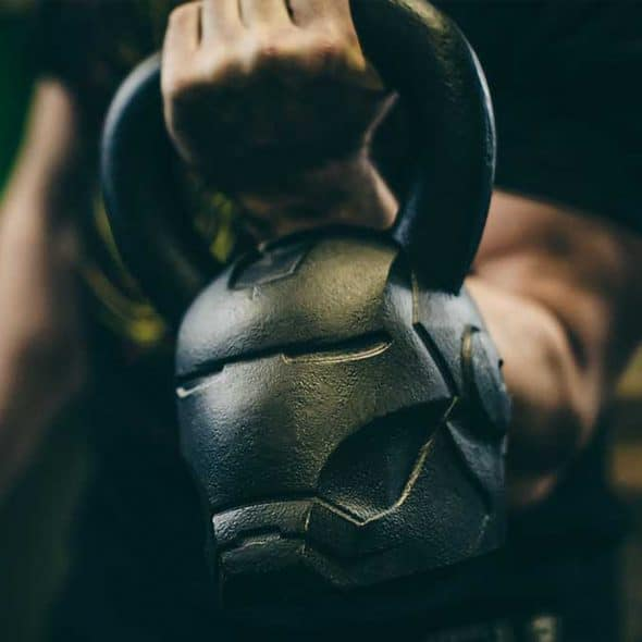 Onnit Marvel Hero Elite Iron Man Kettlebell Weights