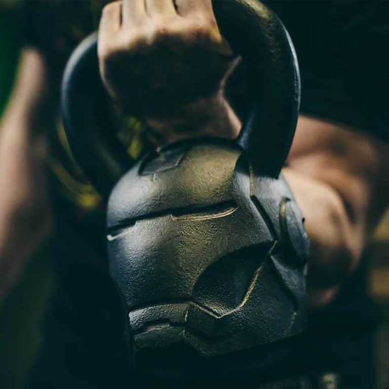 Onnit Marvel Hero Elite Iron Man Kettlebell Weights