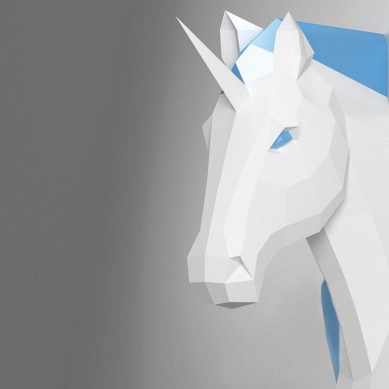 oyxgami-papercraft-unicorn-trophy-handmade