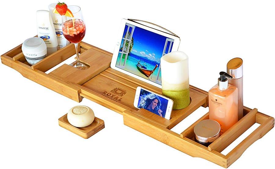royal-craft-wood-luxury-bathtub-caddy-lightweight