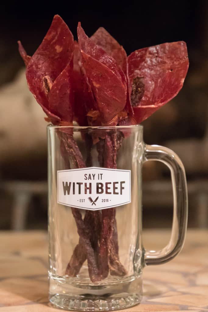 Say It With Beef Jerky Flower Bouquet Calla Lily
