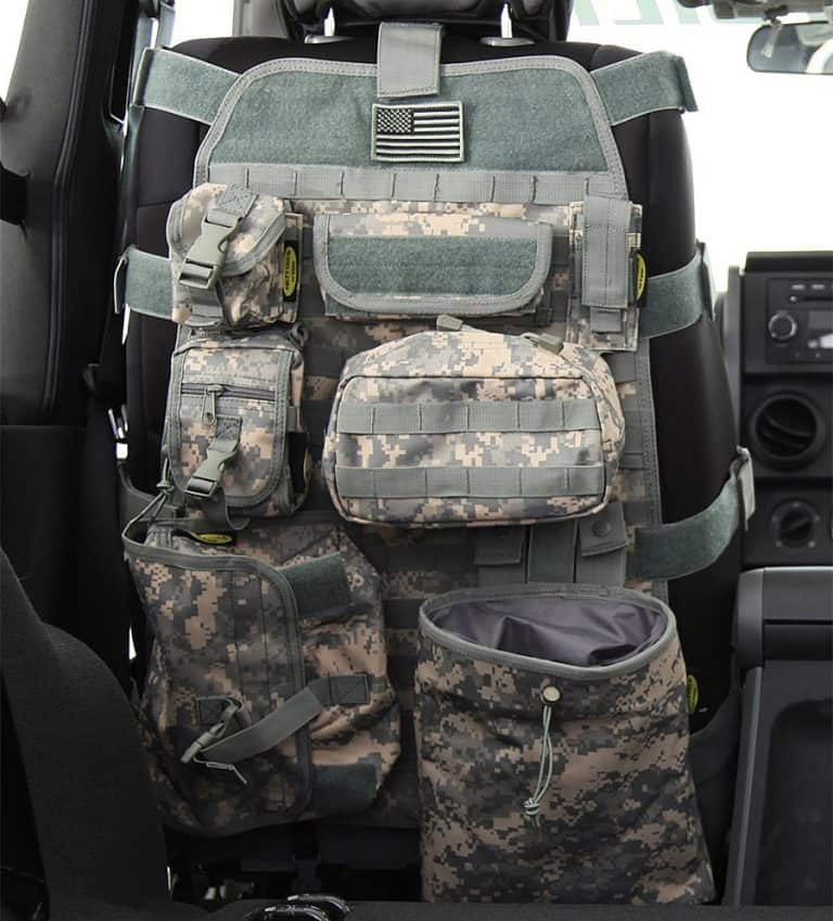 Smittybilt Gear Front Seat Cover Pouches
