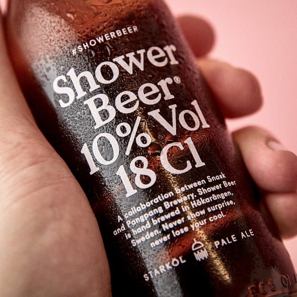 Because you need to drink beer in the shower.