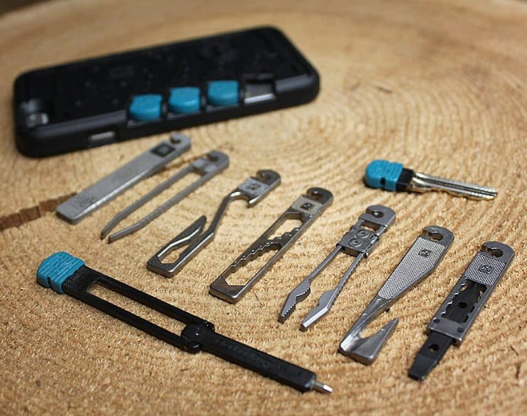 Stowaway Tools iPhone Case Everyday Carry
