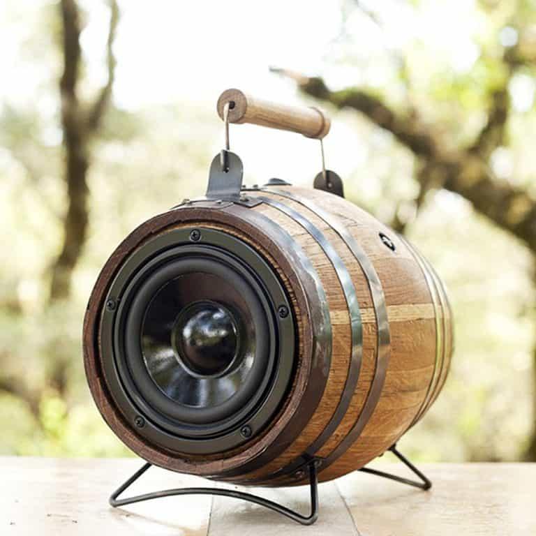 The Boom Barrel BoomCase Viking Barrel Mini Edition Speaker