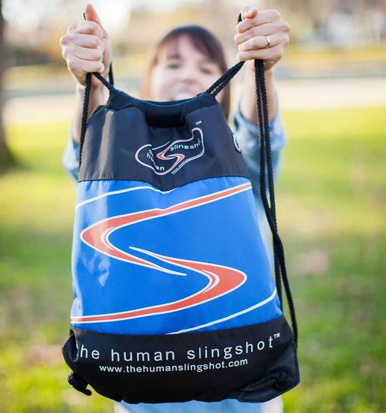The Human Slingshot Game Carrying Case