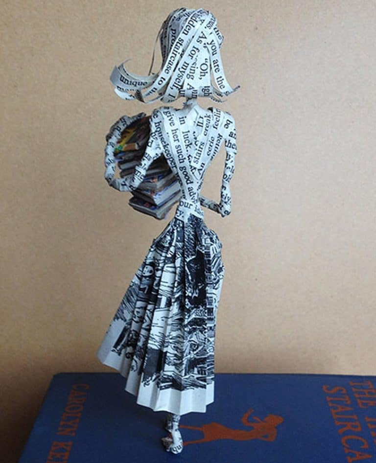 The Poet Trees Nancy Drew Paper Sculpture Made to Order