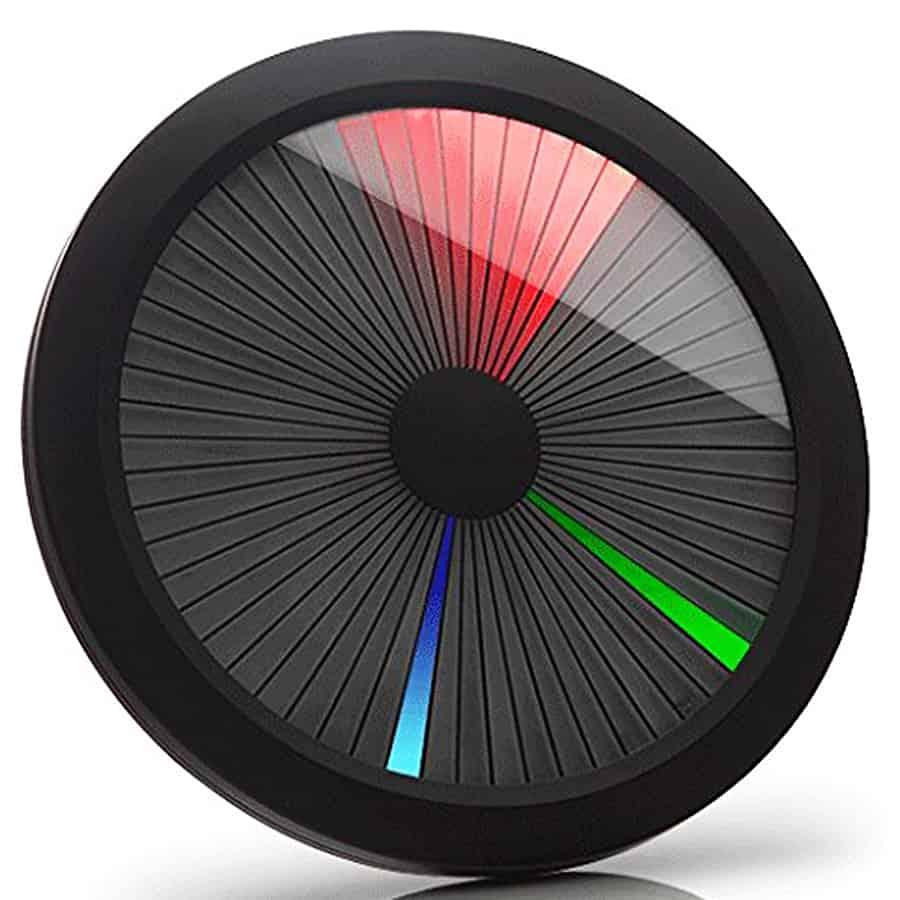 ThinkGeek Chromatic LED Color Spectrum Clock Six Different Animations