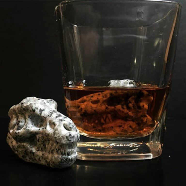 Whiskey Bones Granite T-Rex Skulls Odorless