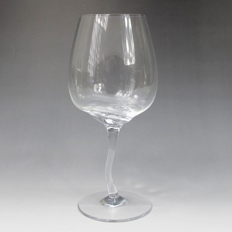 William Warren Drunk Wine Glass Glassware