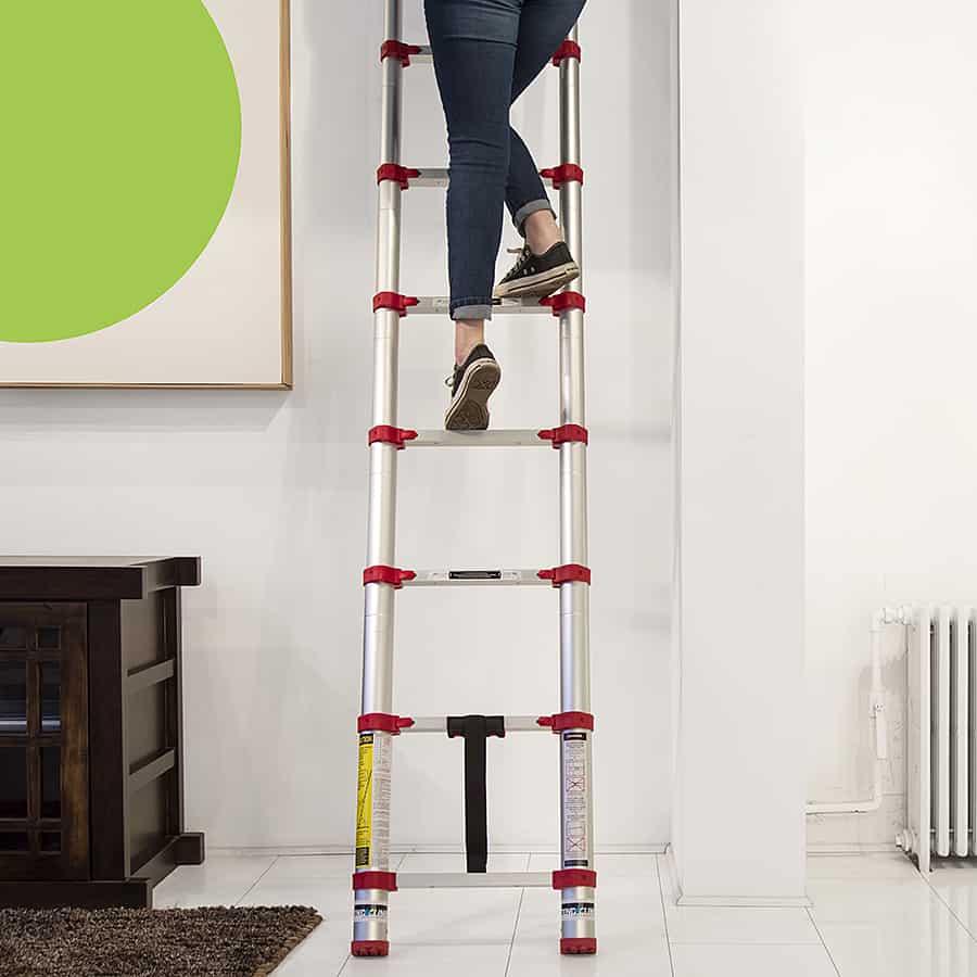 Xtend Amp Climb 785p Aluminum Telescoping Ladder Noveltystreet