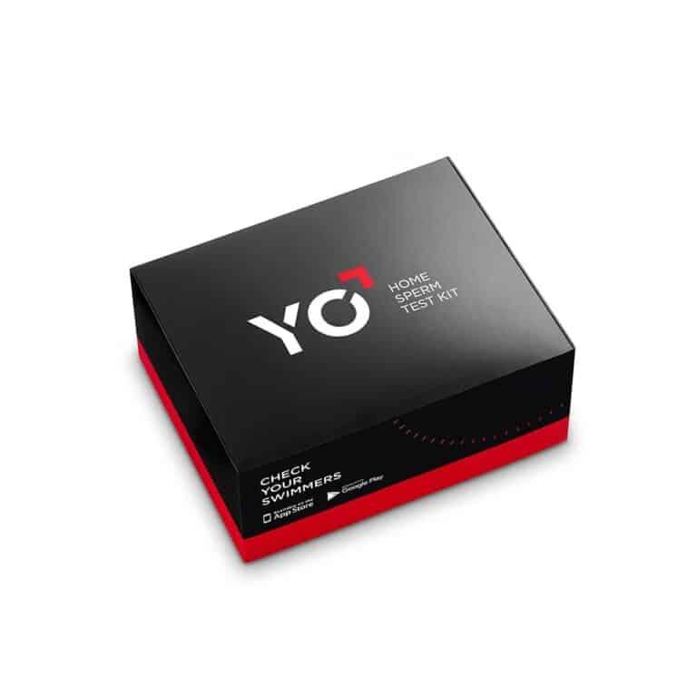 YO Sperm Test Kit Black Box Packaging