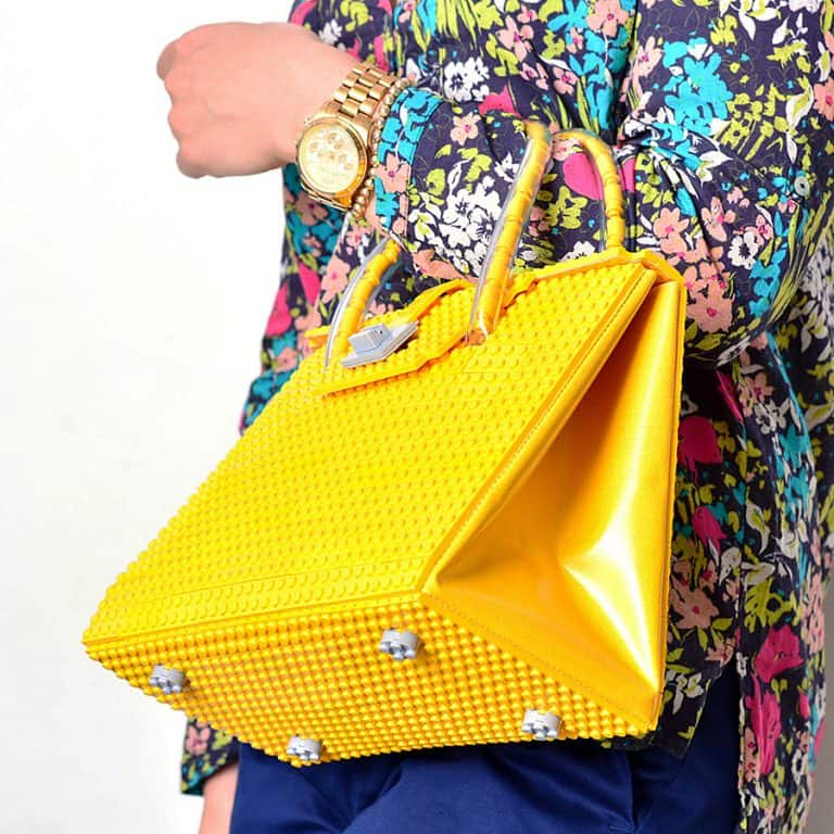 Agabag Yellow Brick Bag Handbag