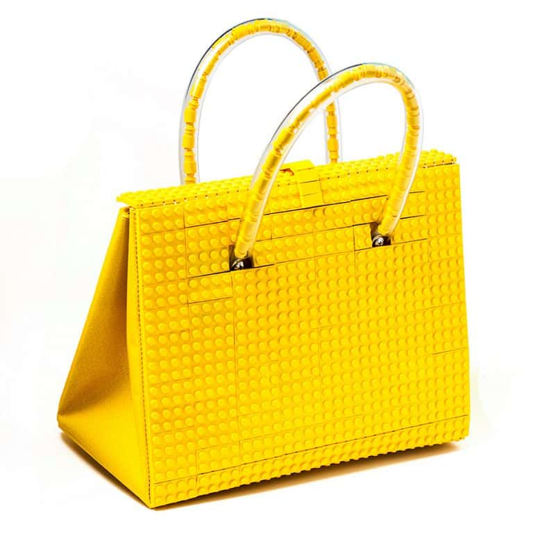 Agabag Yellow Brick Bag Purse