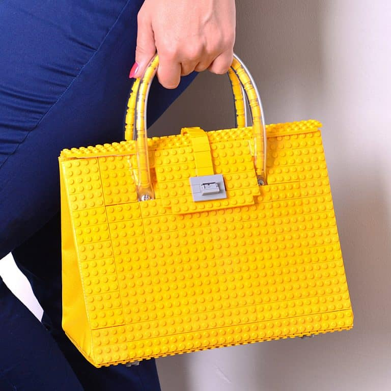 Agabag Yellow Brick Bag Satchel