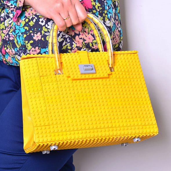 Agabag Yellow Brick Bag Women Bags