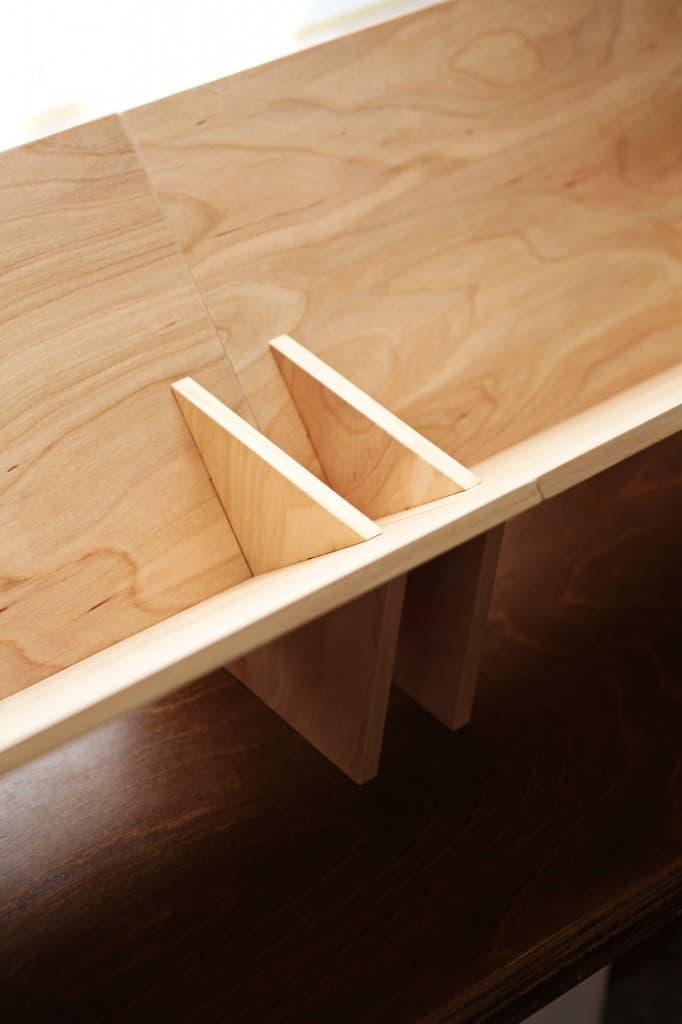 BookShop SSB-1 Slotted System Tabletop Bookcase Modular Bookshelf