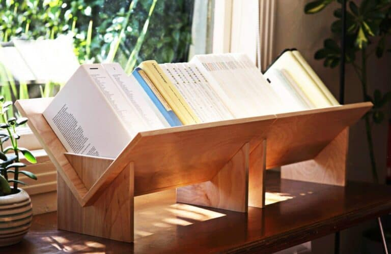 BookShop SSB-1 Slotted System Tabletop Bookcase Small Personal Library
