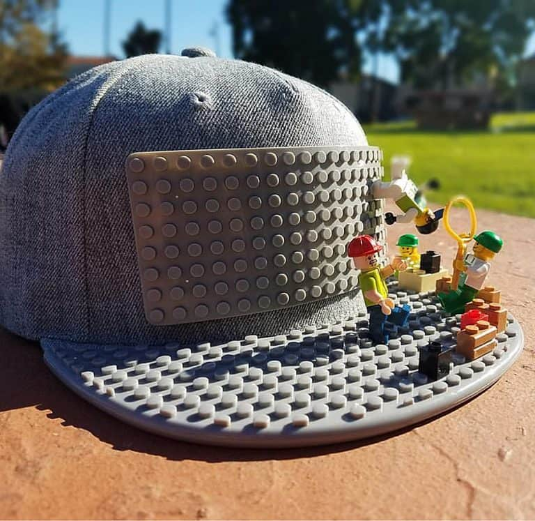 Brick Brick Gear Lego Snapback Baseball Cap Accessory