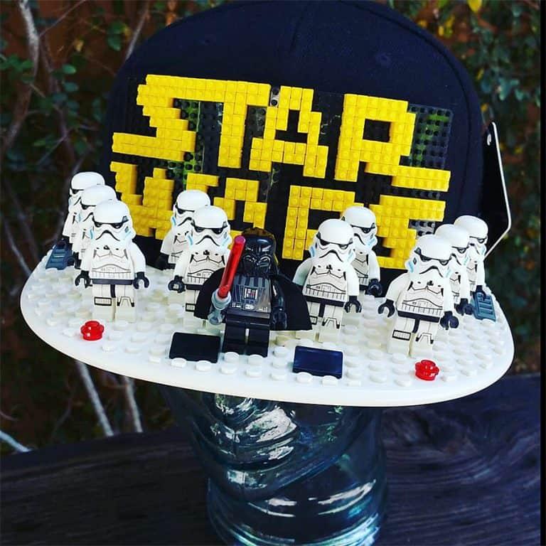 Brick Brick Gear Lego Snapback Baseball Cap Starwars Lego