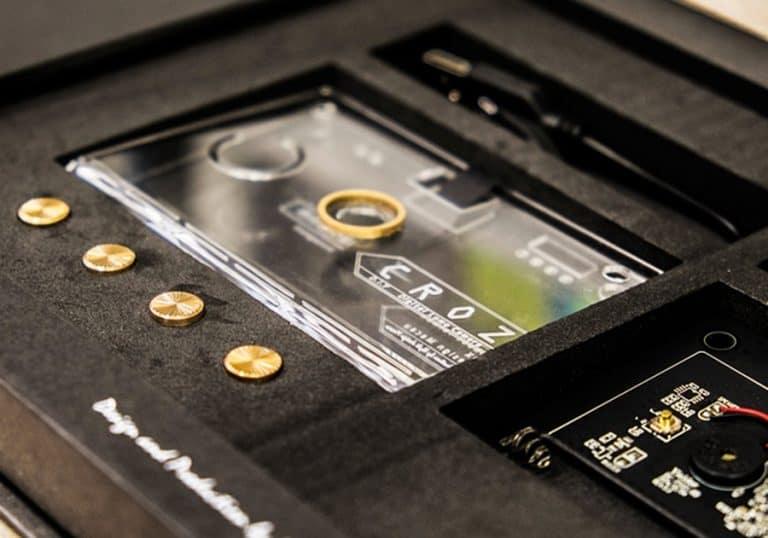 CROZ DIY Digital Camera Kit AAA batteries operated