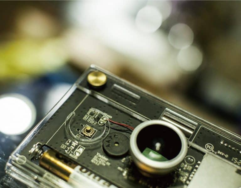 CROZ DIY Digital Camera Kit Transparent Casing